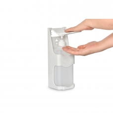 Дозатор локтевой настенный 1000 мл (пластик)